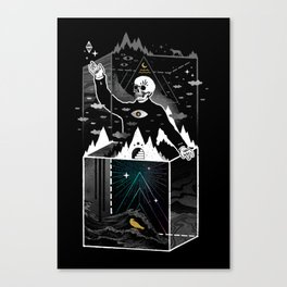 Existential Isolation Canvas Print