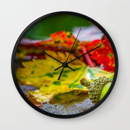 Fall, Autumn Art Prints Wall Clock