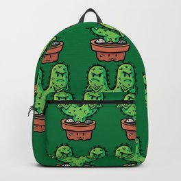 cacti couple crossed Backpack