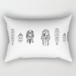 Anonymous - Egypt, Africa, China, Mexico Rectangular Pillow