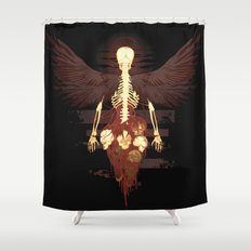 Corpus Shower Curtain