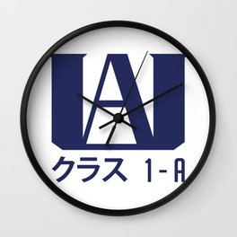 U.A. High School Wall Clock