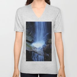 Fonias River Samothrace Greece Unisex V-Neck
