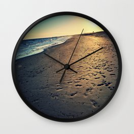 An Ocean Between Us Wall Clock