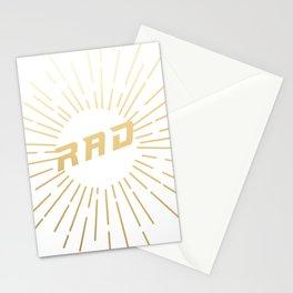 RAD (gold) Stationery Cards