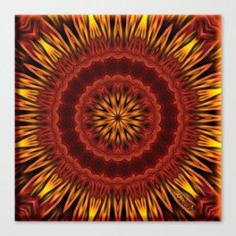 Mandala of Surya the Sun God  Canvas Print
