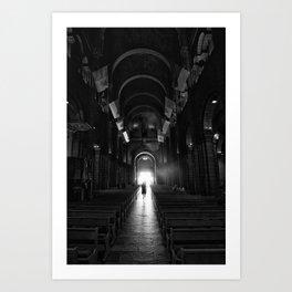 Cathedrale De Monaco - Saint Nicholas Cathedral I Art Print