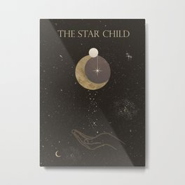 The Star Child Metal Print