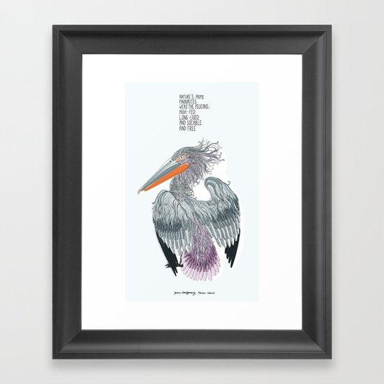 Pelican Island Framed Art Print