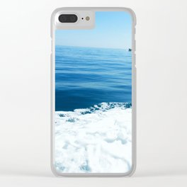 Sailing on the Pacific Ocean Clear iPhone Case