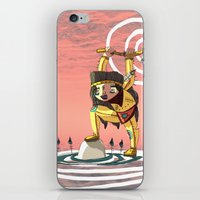 indiana iPhone & iPod Skins featuring Go indiana by Hugues Monki Maton