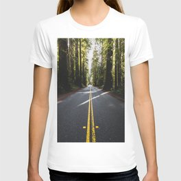 Redwoods Road Trip - Nature Photography T-shirt