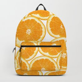Summer Citrus Orange Slices Backpack