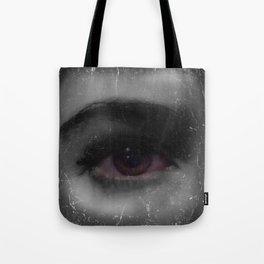 Self Portrait of Eye Tote Bag