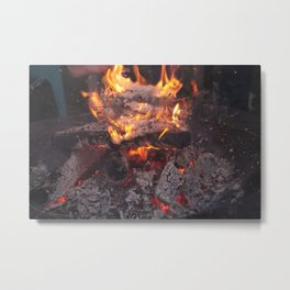Coals Metal Print
