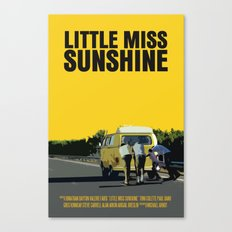 Little Miss Sunshine Movie Poster Canvas Print
