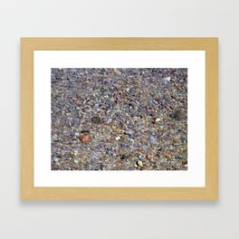 """Riverbed Rainbow"" Framed Art Print"