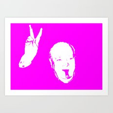 Churchill Fourteen Art Print