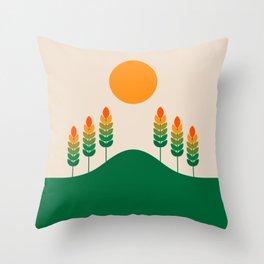 Field Study Throw Pillow
