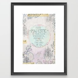 Majestic! Framed Art Print
