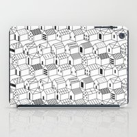 architect iPad Cases featuring Architect and Little Houses by lllg