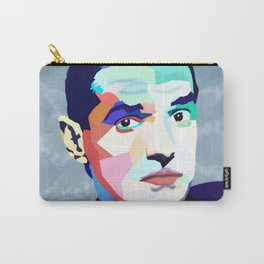 Portrait of Hans Holzel (Falco) Carry-All Pouch