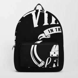 Little Viking in training Backpack