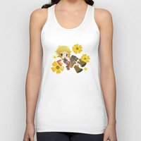 dragon age Tank Tops featuring Dragon Age - Buttercup Sera by Choco-Minto