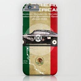 Panamericana Vintage Lancia iPhone Case