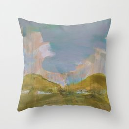 Mapping the heart Throw Pillow