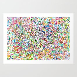 The 2nd Simple Thing Art Print
