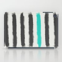 the strokes iPad Cases featuring Paint Strokes  by Zeke Tucker