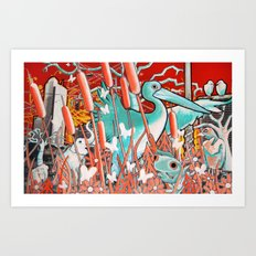 Wetland Expansion Art Print