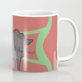 think outside of the box Coffee Mug