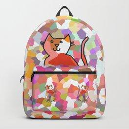 Crystal Cat - Rose Backpack