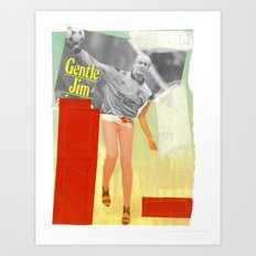Football Fashion #10 Art Print