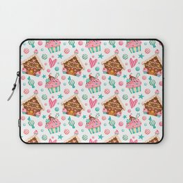 Love You More Than Cake Laptop Sleeve