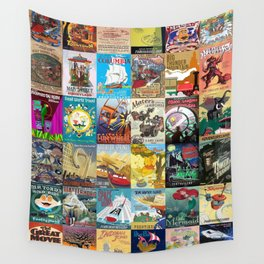 Amusement Rides Wall Tapestry
