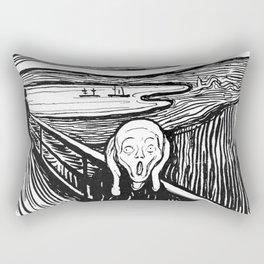 """Edvard Munch """"The Scream"""", 1895 Rectangular Pillow"""