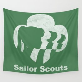 Sailor Scouts Wall Tapestry
