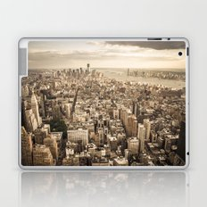 New York from above Laptop & iPad Skin