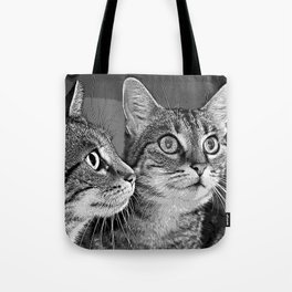 little cat doubled Tote Bag