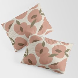 Peach Bowl Pillow Sham