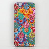 bohemian iPhone & iPod Skins featuring Bohemian by Helene Michau