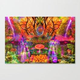 Hypnotic Autumn Magic Canvas Print