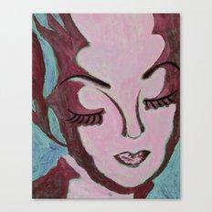 Mug Shot Mauve/Lare and Penates Series  Canvas Print