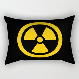 Yellow Radioactive Rectangular Pillow