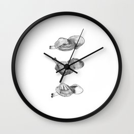 Bivalvia serie 2 Wall Clock