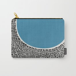 Abstract Blue Lake Carry-All Pouch