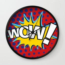 WoW! - MoM Wall Clock